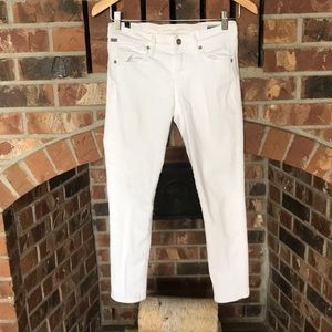 Citizen of Humanity white jeans